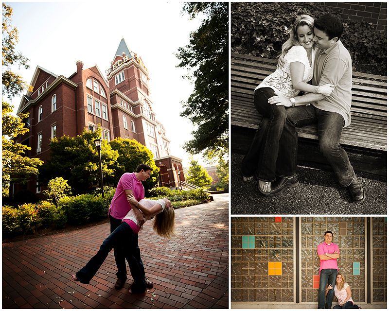 Jesse LShea Enagement3webS Yellow Jacket Love   BerryTree Photography : Atlanta, GA Engagement Photographer