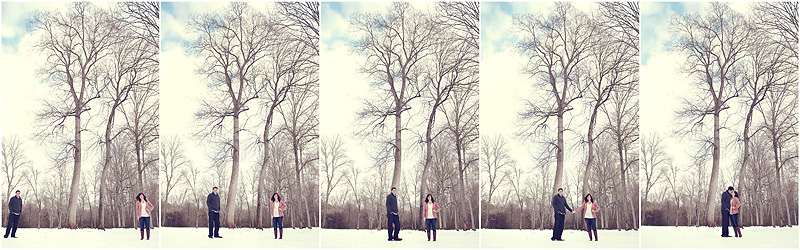 Alex and Danielle Snow 2 web Vintage Winter Engagement : BerryTree Photography, Atlanta, GA photographer