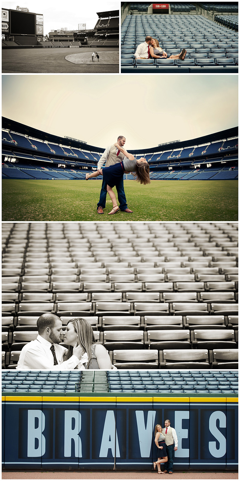 Braves Engagement Final3 web Atlanta Braves Engagement – BerryTree Photography | Atlanta GA | Wedding Photographer