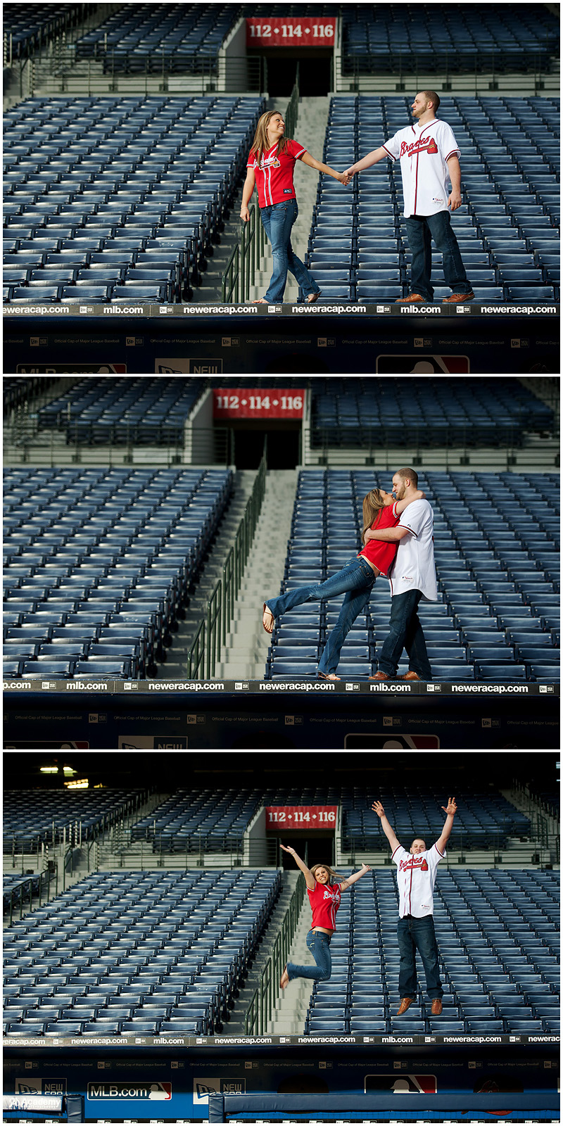 Braves Engagement Final5 web Atlanta Braves Engagement – BerryTree Photography | Atlanta GA | Wedding Photographer