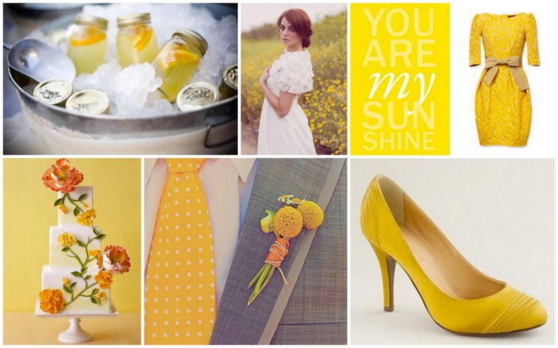 Yellow Wedding Spring is in the Air!  |  BerryTree Photography | Wedding Photographer