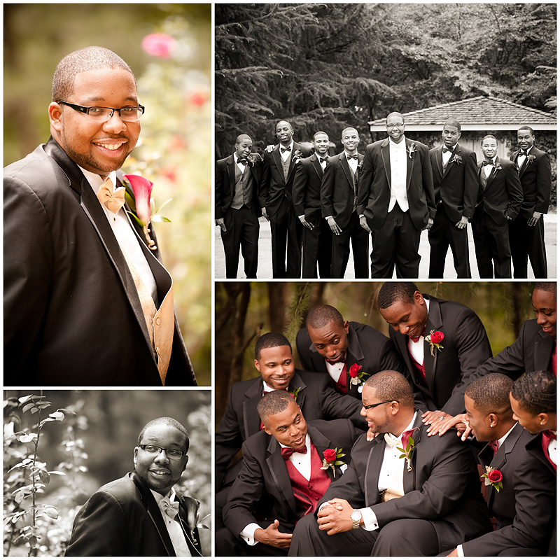 Everett and Nashawn Wedding3 Nashawn & Everett | Villa Christina Wedding | Atlanta, GA