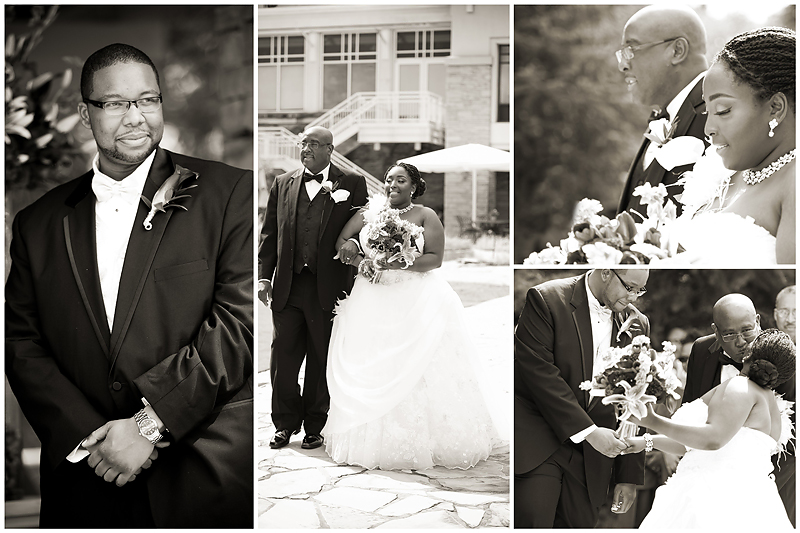 Everett and Nashawn Wedding6 Nashawn & Everett | Villa Christina Wedding | Atlanta, GA