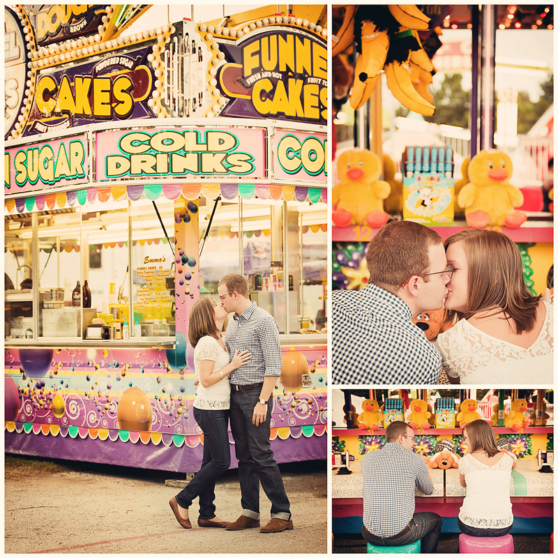 Jenna and Matt Engagement Jenna & Matt | Vintage Fair Engagement | Atlanta, GA | BerryTree Photography