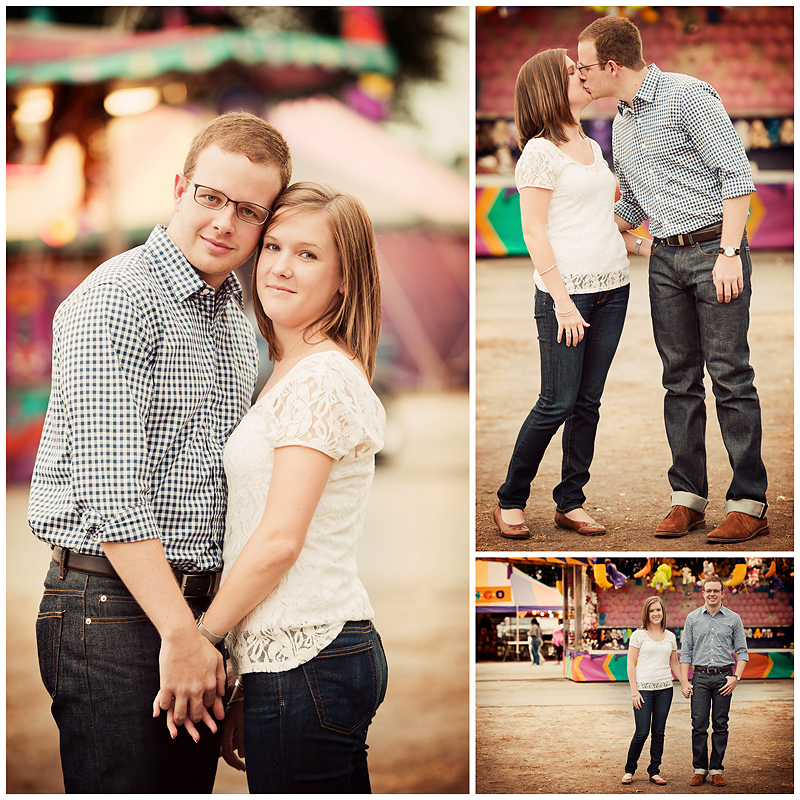 Jenna and Matt Engagement2 Jenna & Matt | Vintage Fair Engagement | Atlanta, GA | BerryTree Photography