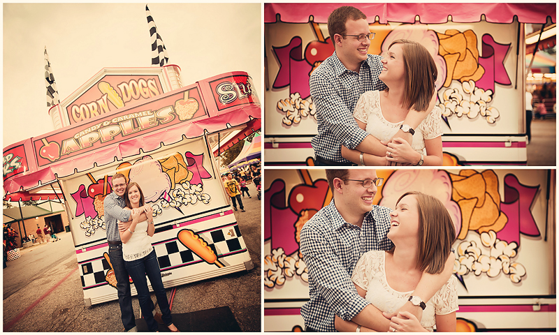 Jenna and Matt Engagement4 Jenna & Matt | Vintage Fair Engagement | Atlanta, GA | BerryTree Photography