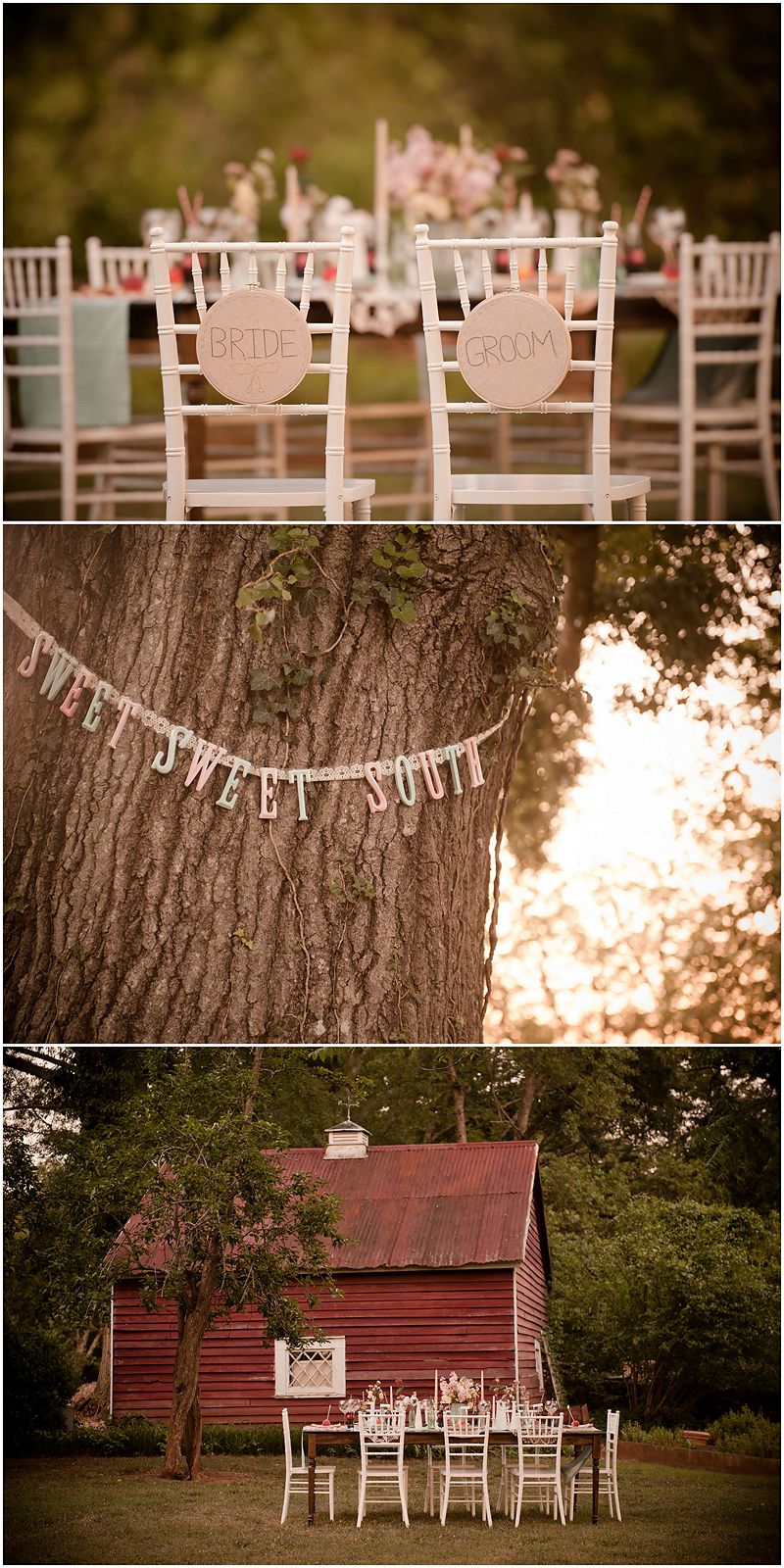 Peach Stylized Shoot16 Georgia Peach Stylized Wedding | Style Me Pretty | Madison Oaks Inn & Gardens