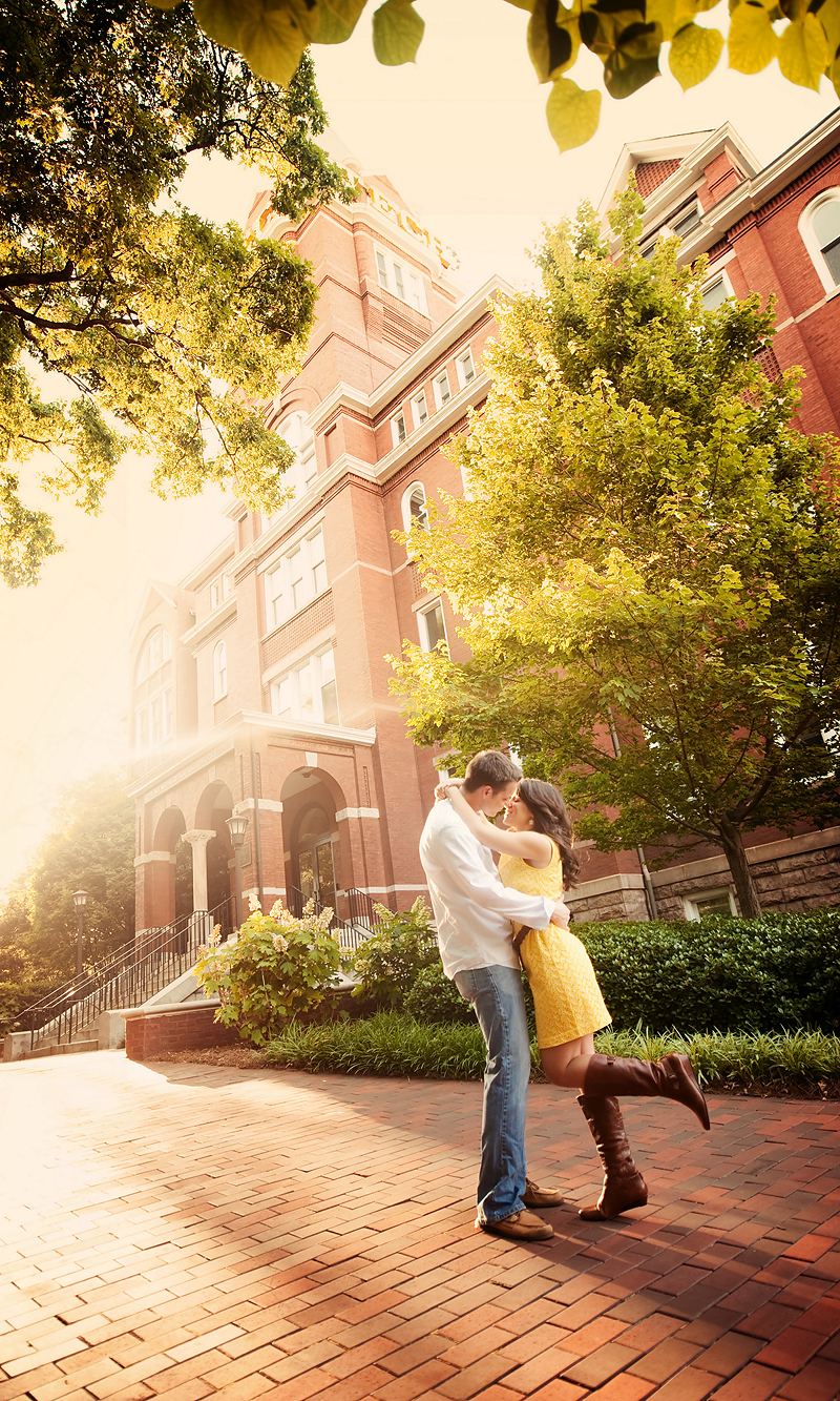 Rachel Andrew Engagement2 Rachel & Andrew | GA Tech Engagement | Atlanta, GA | BerryTree Photography