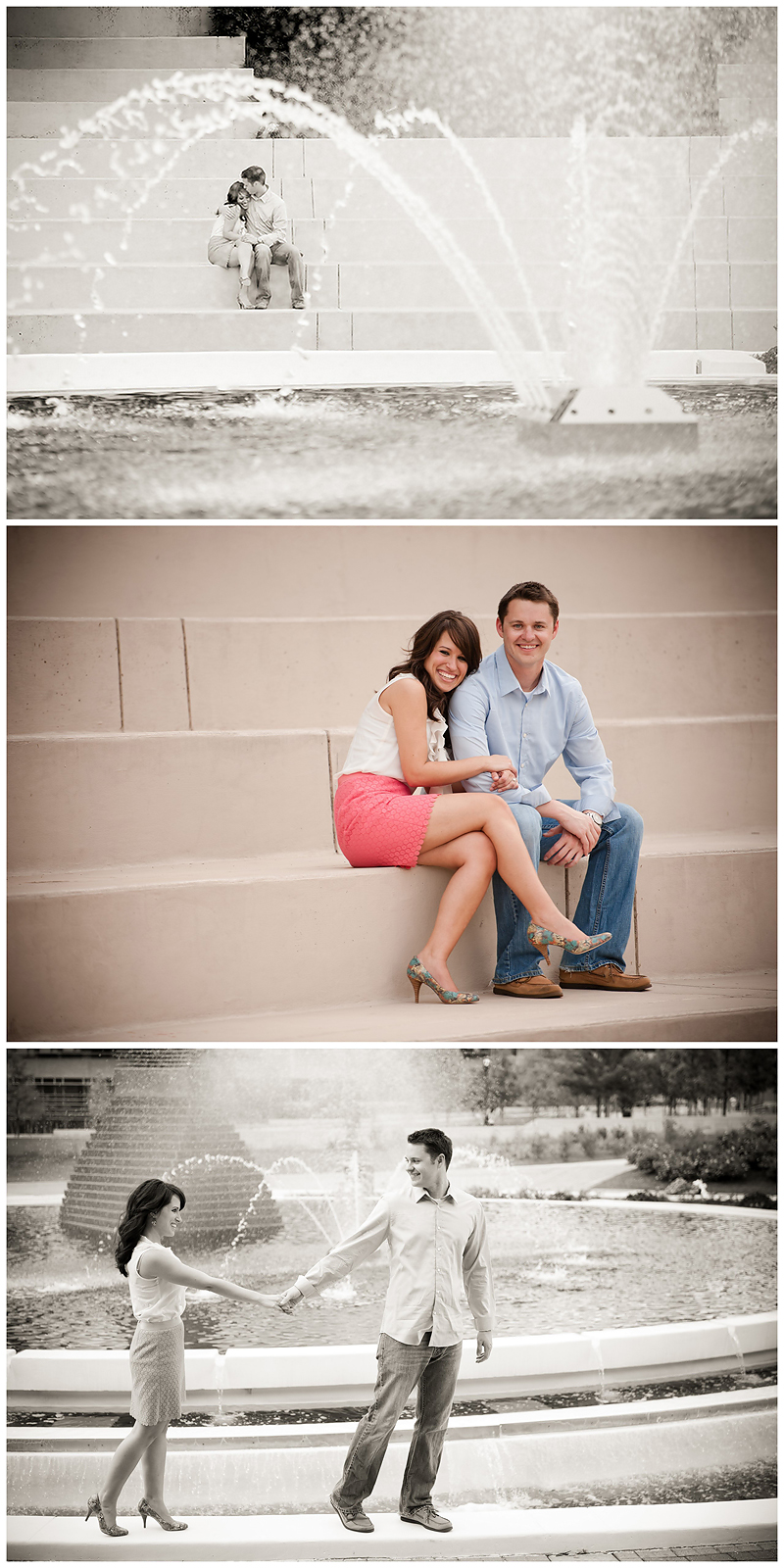Rachel Andrew Engagement4 Rachel & Andrew | GA Tech Engagement | Atlanta, GA | BerryTree Photography