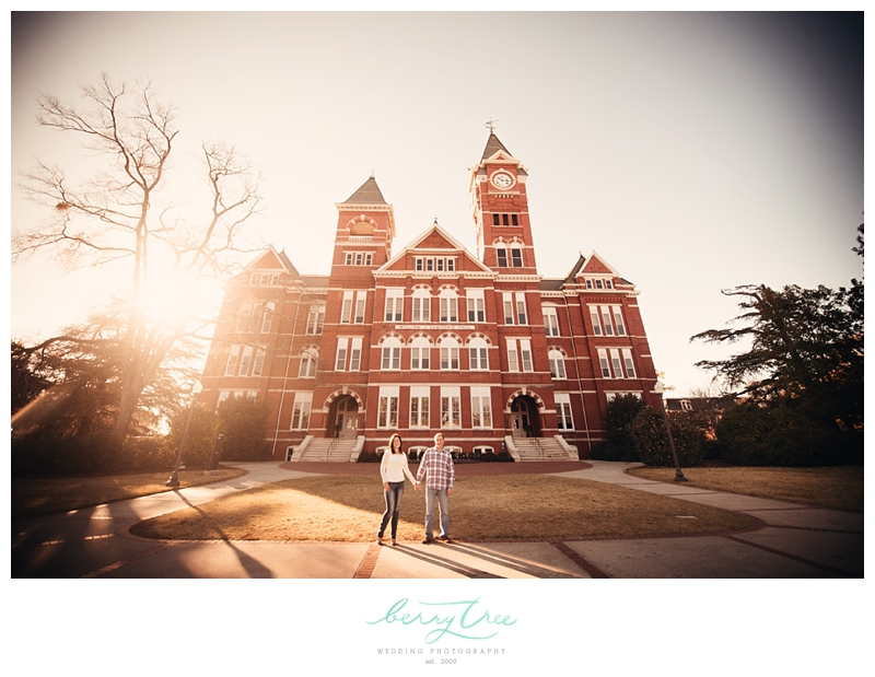 2013 01 04 0024 Aaron & Laura | Engagement at Auburn University | Auburn, AL | BerryTree Wedding Photography
