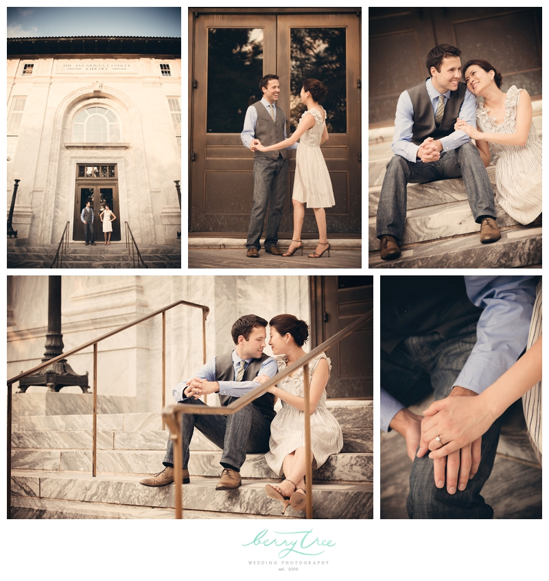 2013 01 30 0006 Hunter & Aram | Emory University Engagement | BerryTree Photography | Wedding Photographer