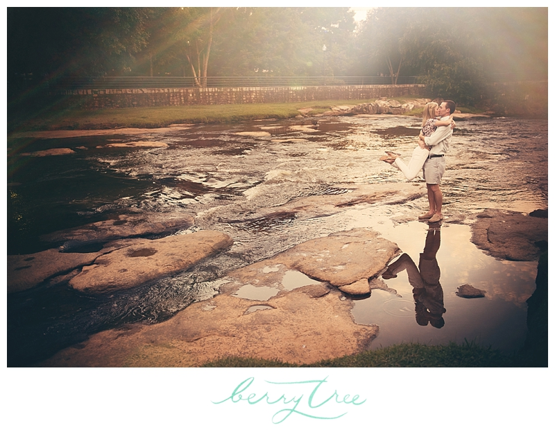 2014 09 02 0009 Downtown Greenville | Falls Park & Flour Field | Engagement Session | Greenville, SC Wedding Photographer | BerryTree Photography