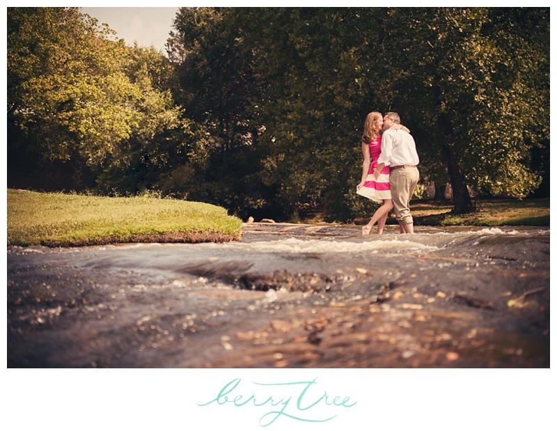 2015 01 28 0041 Falls Park Downtown Greenville, SC | Engagement Session | Wedding Photographer | BerryTree Photography